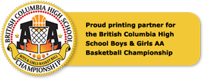 Proud sponsor for the BCHS AA Basketball Championship
